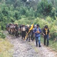 Mengawali Diklat dengan Longmarch  Gunung Tilu ke Situ Patengan