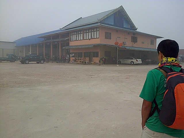 terminal Luang namtha pagi hari