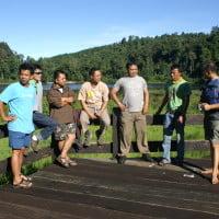 Reuni Para Elang di Situ Gunung